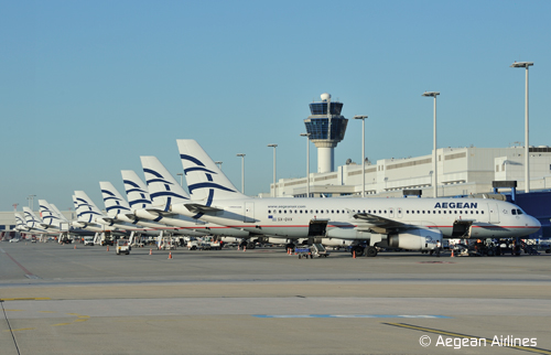 Flota Aegean Airlines