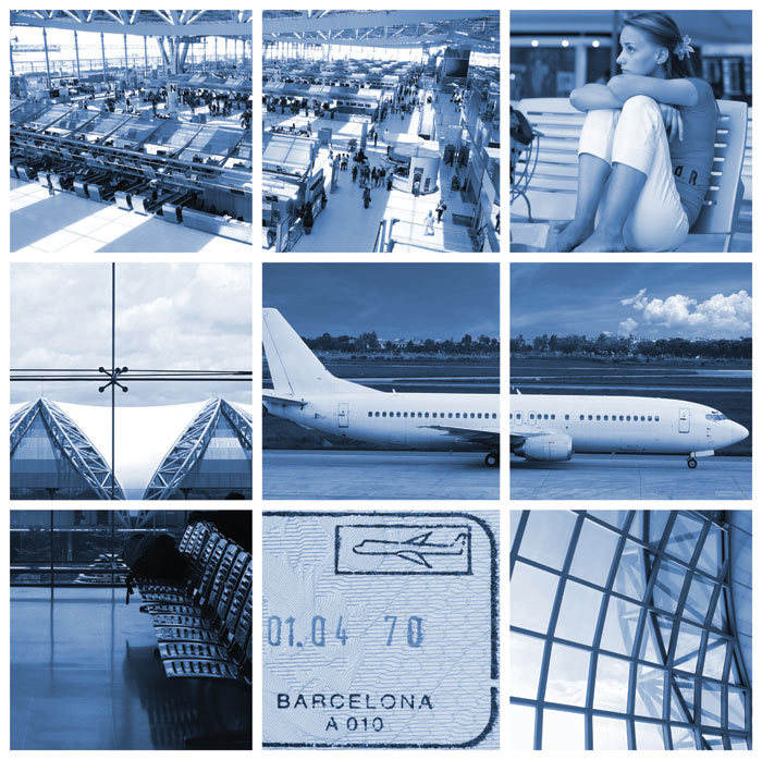 Aiport collage