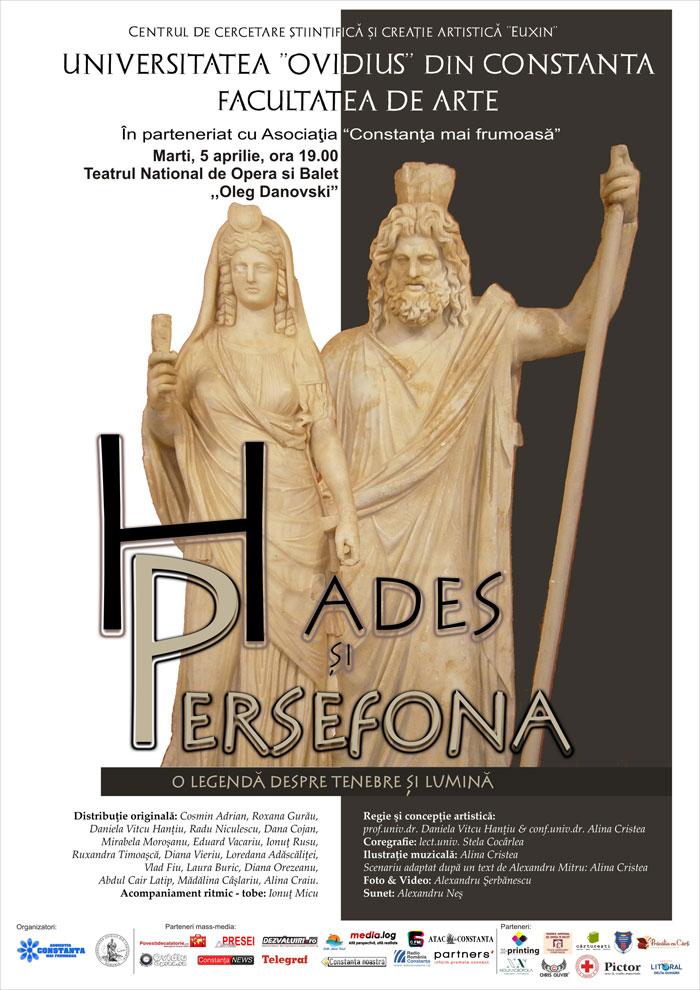 spectacol teatru Hades si Persefona