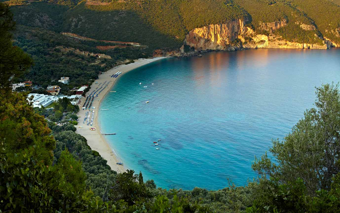 Parga Lichnos Beach, Ionian Sea
