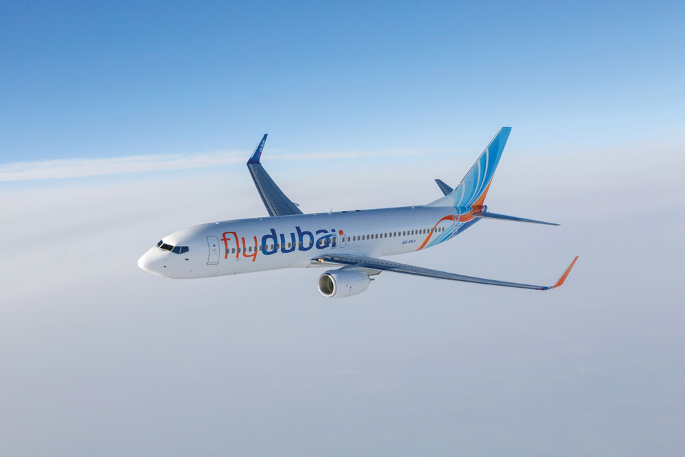 flydubai avion